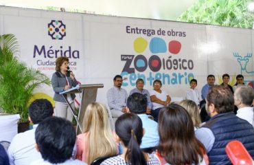 Mejoramiento parque centenario mérida