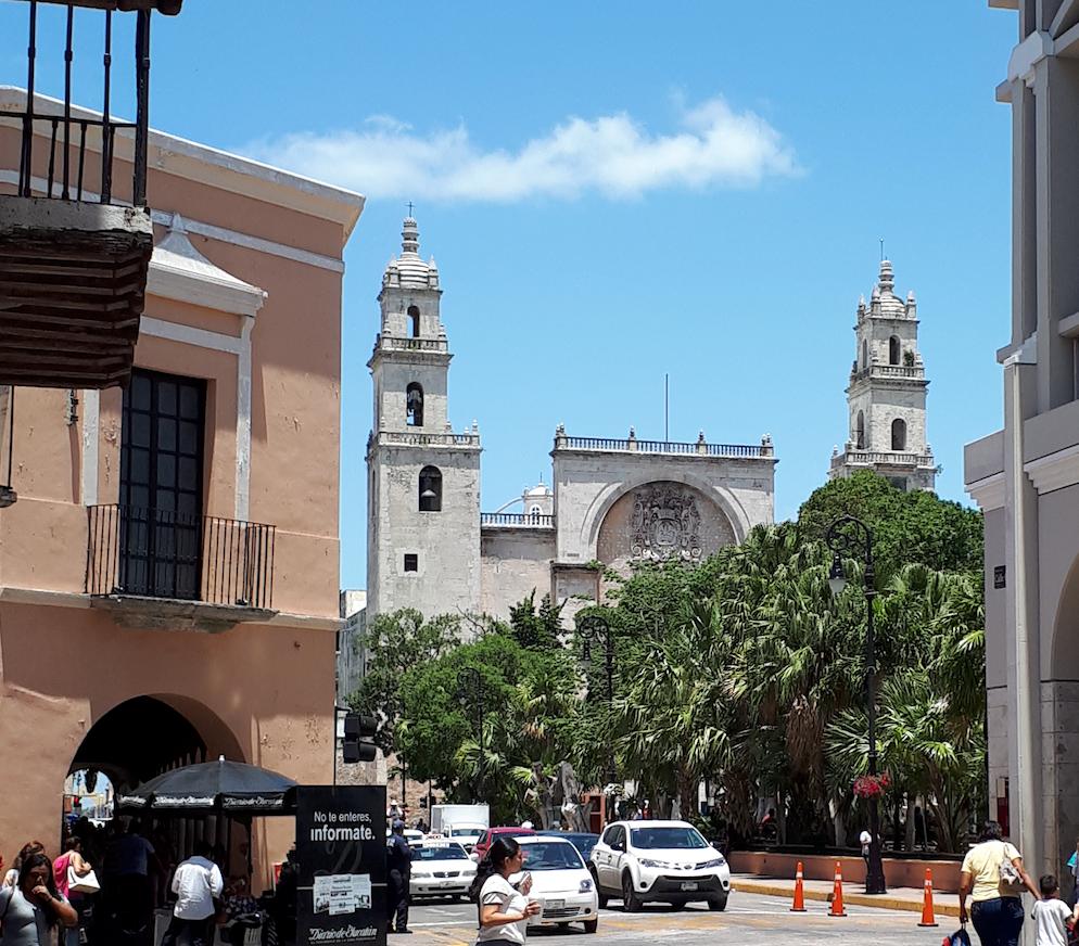 Centro Histórico de la Ciudad de Mérida Año 2018